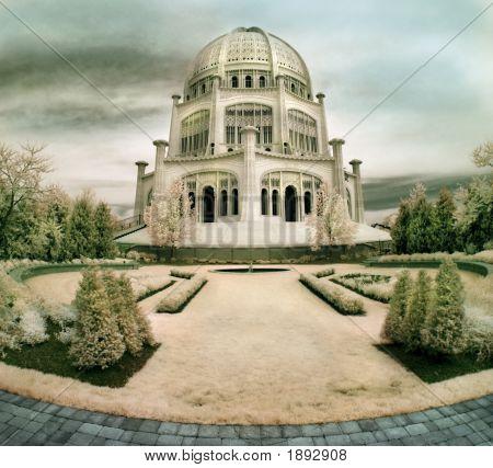 Bahai Temple In Illinois
