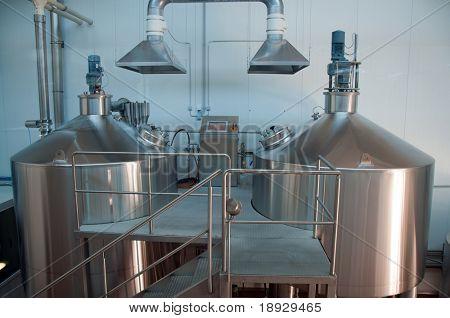 Modern Brewery
