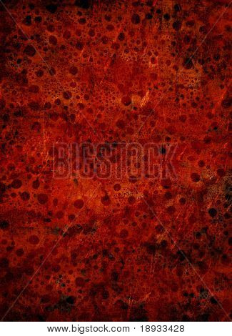 Red grunge surface, background