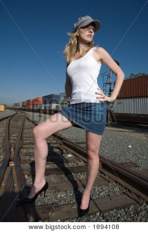 Standing On The Tracks