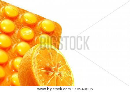 Vitamin C conceptual background