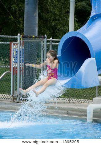 Morgan Takes The Slide