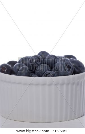 Nice Bowl Of Blueberries