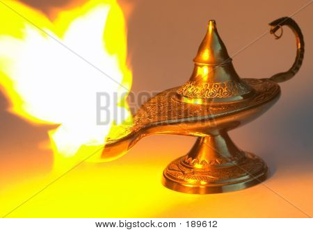 Aladdin's Lamp, Yellow Version