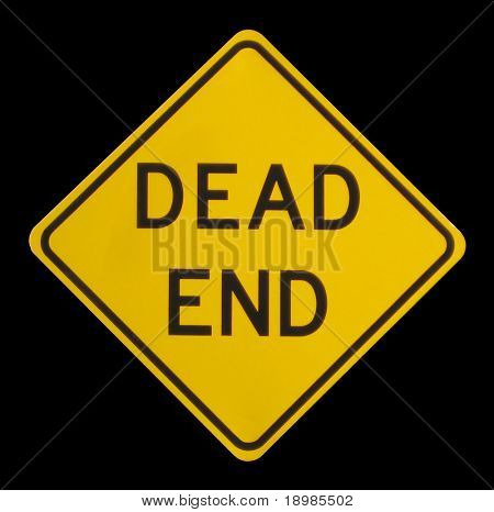 a dead end street sign