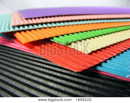 Colorful Cardboard