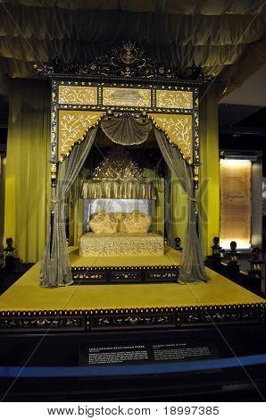 The Royal Throne. National Museum in Kuala Lumpur, Malaysia