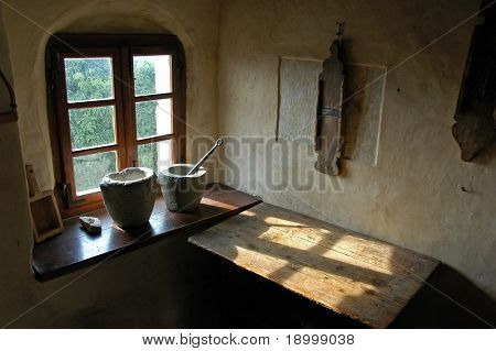Old Room in Slovenia