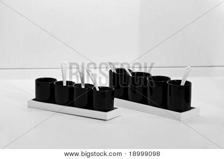 Decoración de tazas de porcelana