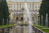 picture of samson  - the fountain samson and imperial palace - JPG