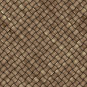 woven bast background that tiles seamless in all directions