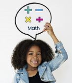 Math Formula Calculation Education Graphic poster