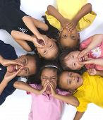 foto of black american  - Young kids growing up and having fun - JPG