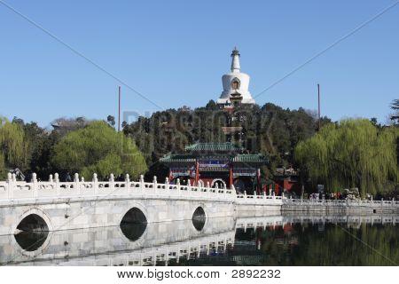 Beijing China — Beihai Park