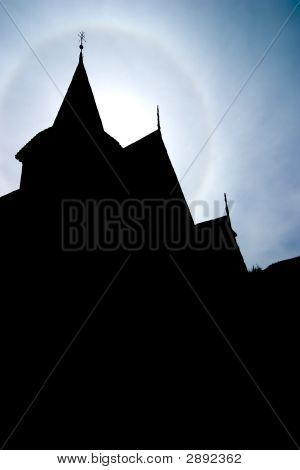 Church Steeple Silhuette