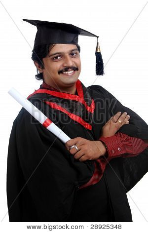 Indian graduate