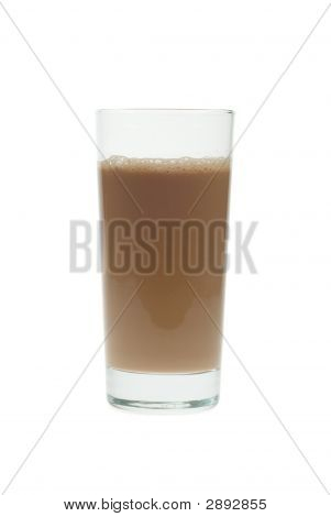 Isolated Chocolate Milk