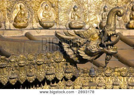 Jokhang Monastry In Tibet