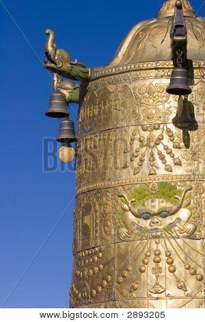 Roof Of Jokhang Monastry