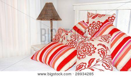 Bedroom Scene in bright colors