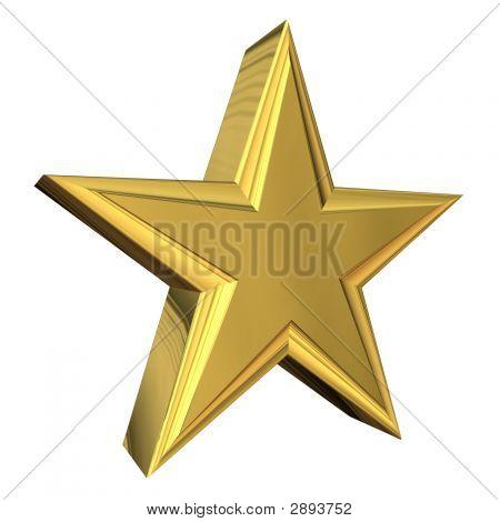 Gold Star 3D