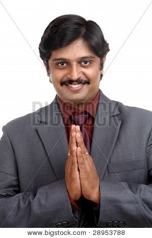 Indian business man portrait