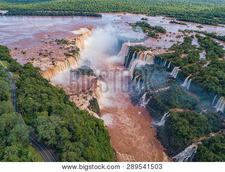 Aerial View Of The Iguazu