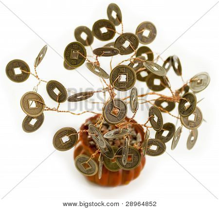 Feng Shui Money Tree, Symbol Of Wealth Growth