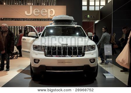 Brussels, Auto Motor Expo Jeep Grand Cherokee