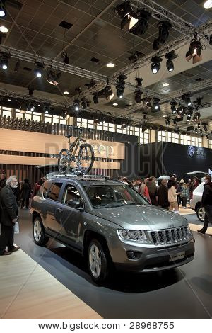 Brussels, Auto Motor Expo Jeep Compass