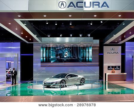 Acura Nsx Concept Display