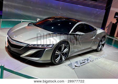 Acura Nsx Concept 2012 Naias