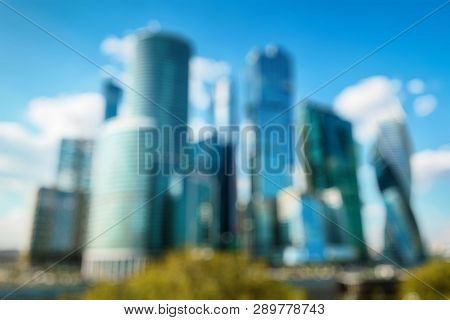 Skyscrapers Of Moscowcity As Creative
