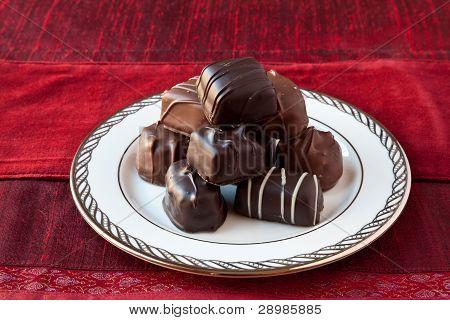 Dark And Milk Chocolates