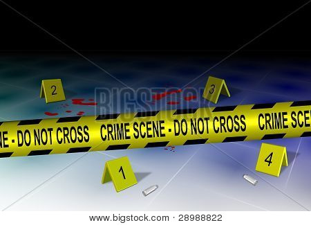 Crime Scene And Evidence