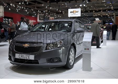 Brussels, Auto Motor Expo Chevrolet Cruze