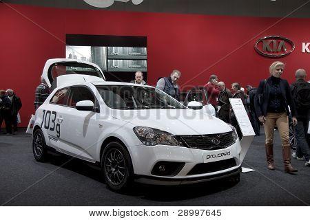 Brussels, Auto Motor Expo  Kia Pro_cee'd