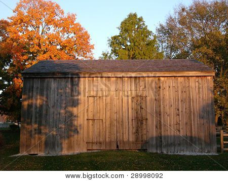 Restored Barn at Historic Nauvoo, Illinois