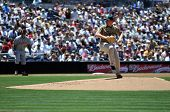 June 22nd, 2008 -  San Diego Padres pitcher Randy Wolf during a game versus the Detroit Tigers at Pe