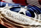 stock photo of betsy ross  - Ripples across America  - JPG