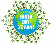 Earth Day. Eco Friendly Ecology Concept. Earth Day Flat Concept. World Environment Day Background. S poster