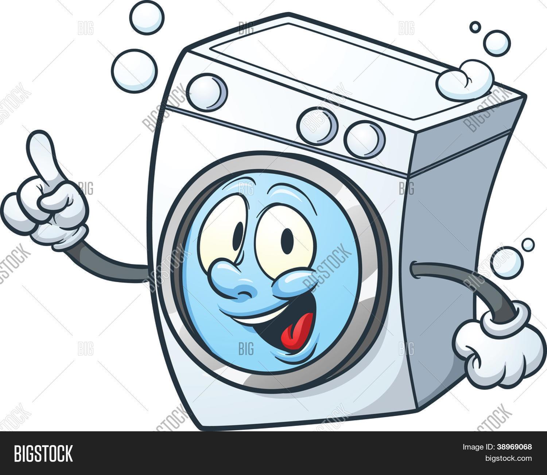 Vectores y fotos en stock de lavadora de dibujos animados for Fotos de lavadoras