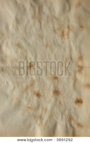Old Dirty Stained Paper Background