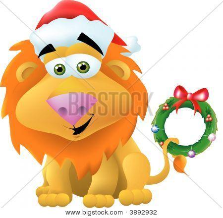 Christmas Lion
