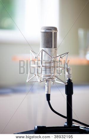 Microfone oldschool
