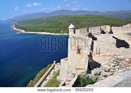 Castle San Pedro de la Roca del Morro, Santiago de Cuba, Cuba