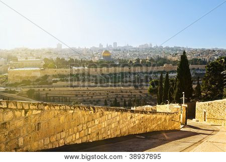 Mosque Of Caliph Omar (dome Of The Rock )