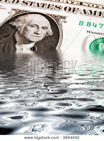 Hundimiento del dólar