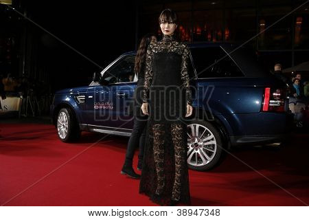 BERLIN, GERMANY - NOV 5: Doona Bae at the 'Cloud Atlas' Germany Premiere at CineStar on November 5, 2012 in Berlin, Germany