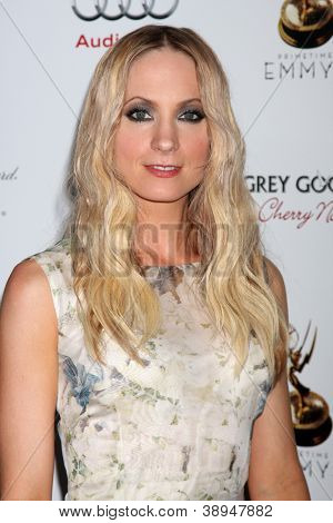 LOS ANGELES - SEP 21:  Joanne Froggatt arrives at the Primetime Emmys Performers Nominee Reception at Spectra by Wolfgang Puck on September 21, 2012 in Los Angeles, CA